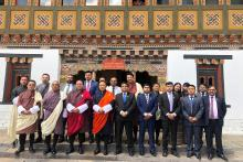 A historic moment for the Ministry of Finance, Royal Government of Bhutan, SAARC Development Fund and Drukair Corporation Ltd. as we signed today a US$13m loan agreement for purchase of Drukair ATR 42-600. This is the first project under SDF's Economic Window. SDF financing would help Drukair Corporation Ltd. extend aviation connectivity with Bangladesh, India and Nepal and thus, provide economic connectivity and regional integration.  The signing ceremony was held at the Ministry of Finance.